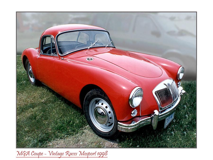 1960 MGA Coupe