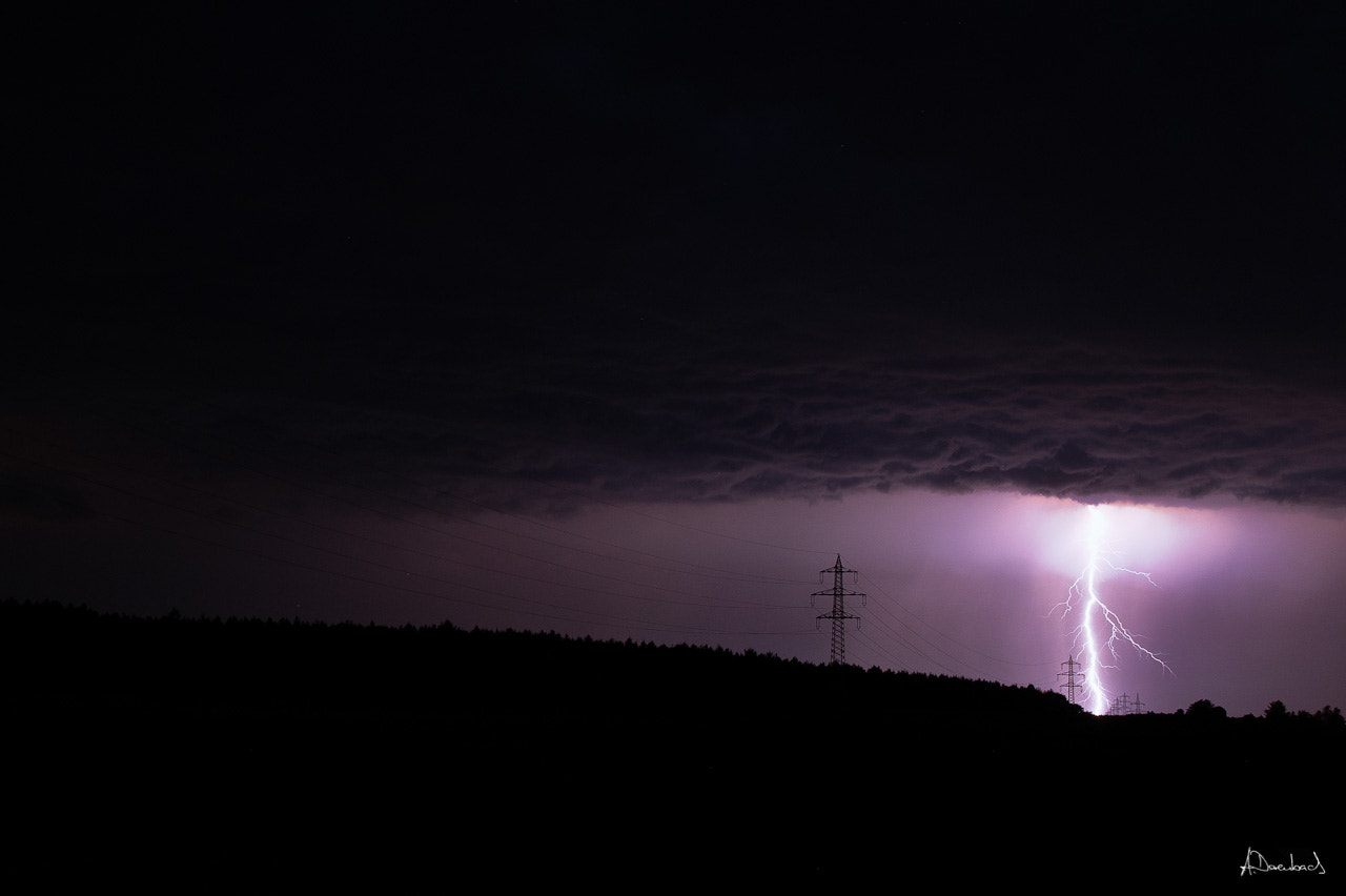 Photograph Lightning I by Alexander Derenbach on 500px