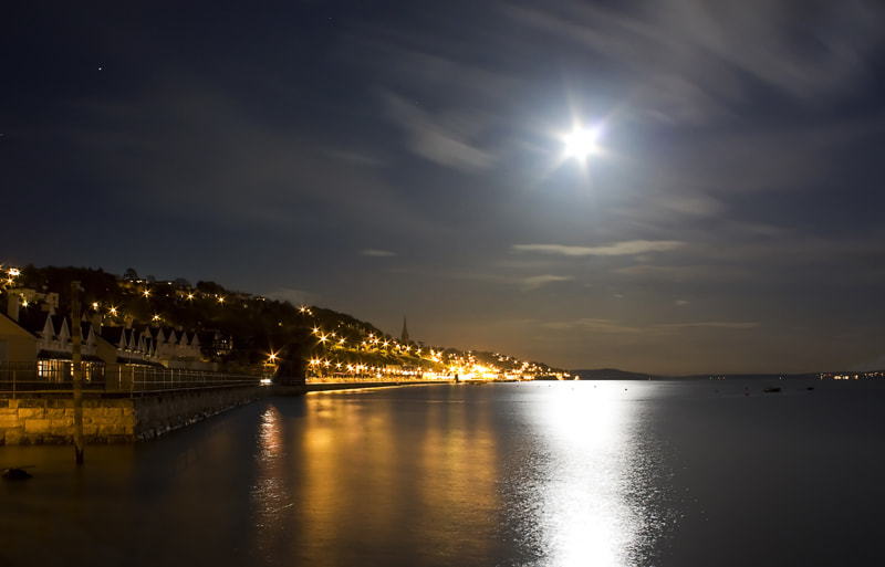 Photograph Cobh At Night by DD80 Photography on 500px