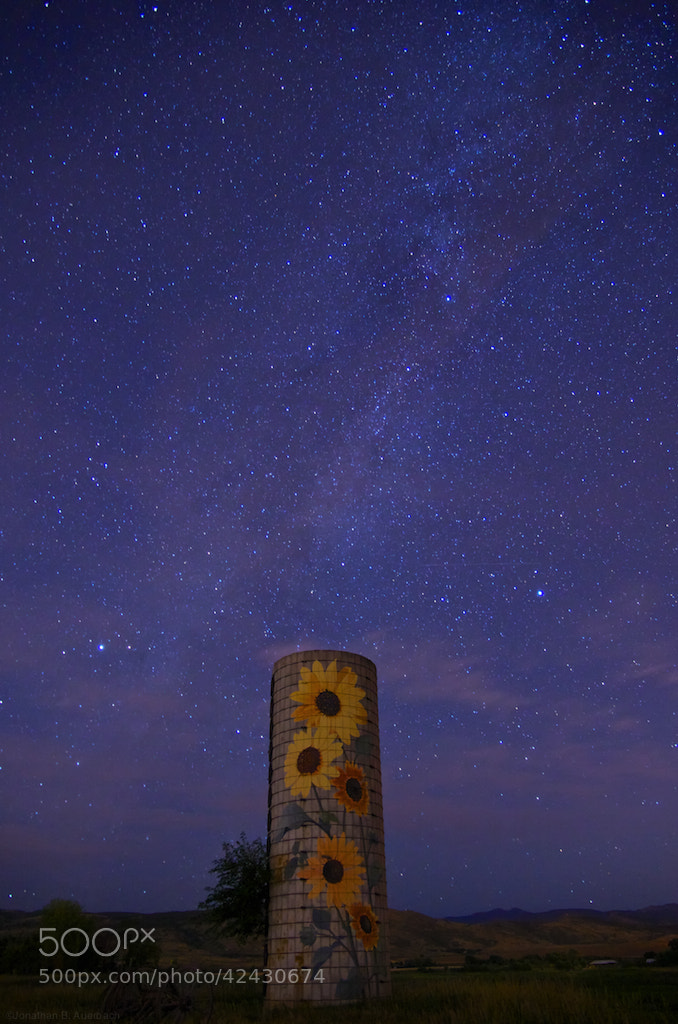 Photograph The Magic Silo by Jonathan Auerbach on 500px