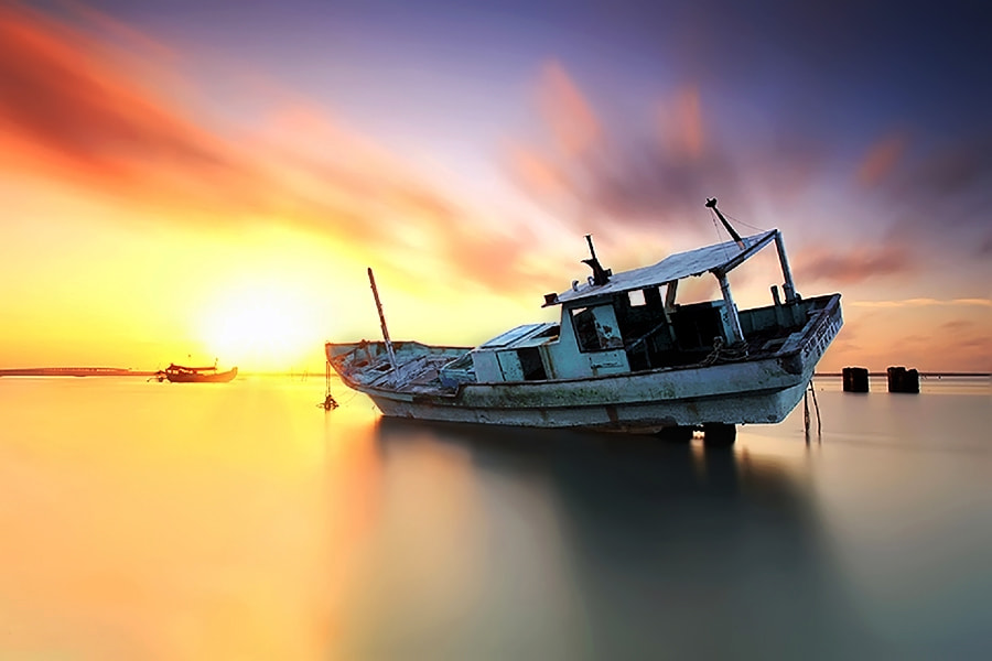 Photograph Stranded by Agoes Antara on 500px
