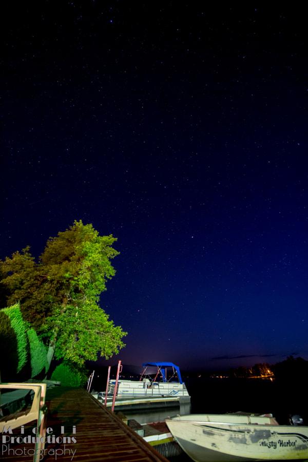 Night at Lake Calabogie Lodge