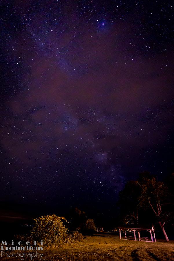 It's full of stars...