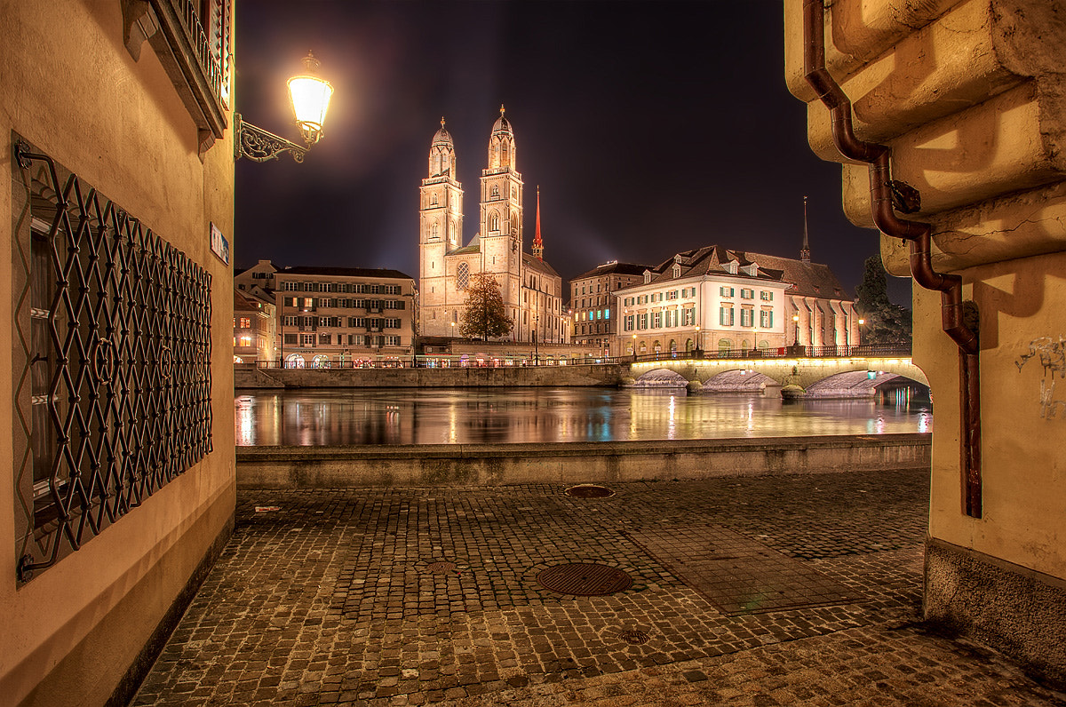 Photograph Zurich Cathedral non tourist view by Kai Böhm on 500px