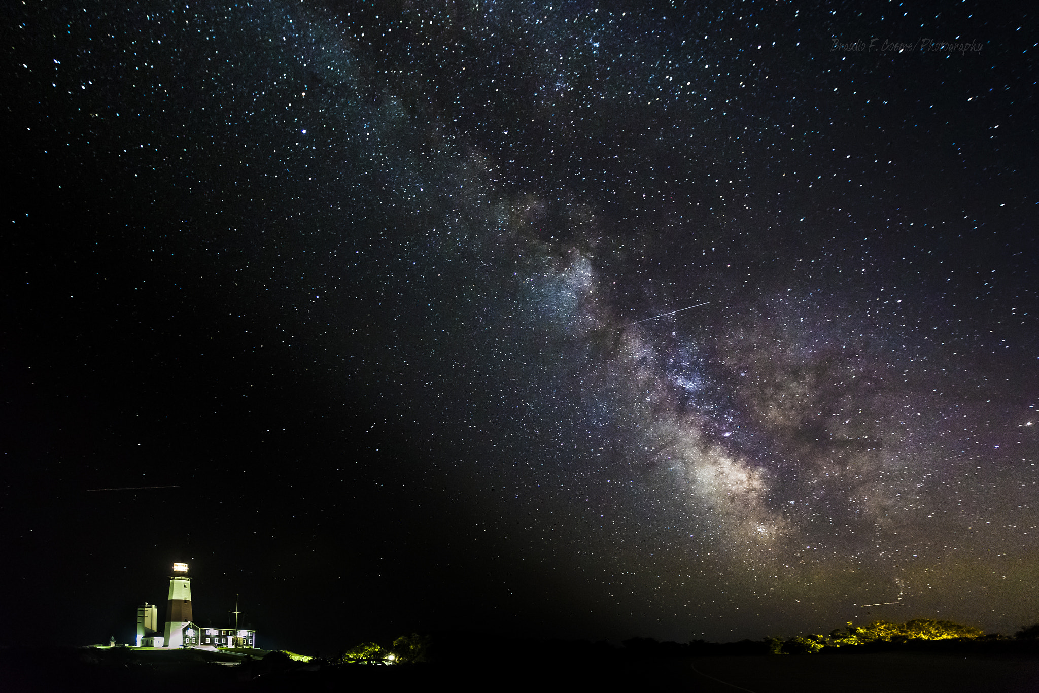 Photograph The Lighthouse and the Milky Way... by Braulio Cosme on 500px