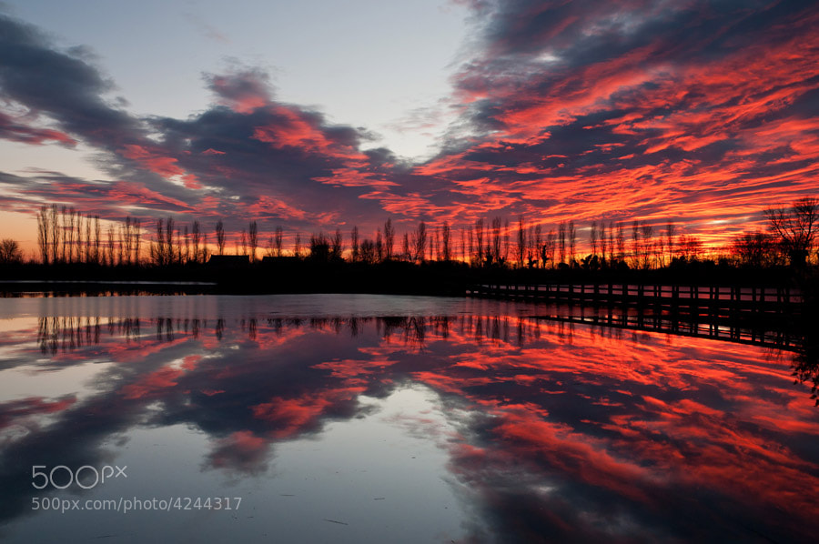Photograph Fire in the sky by Umberto Salvagnin on 500px