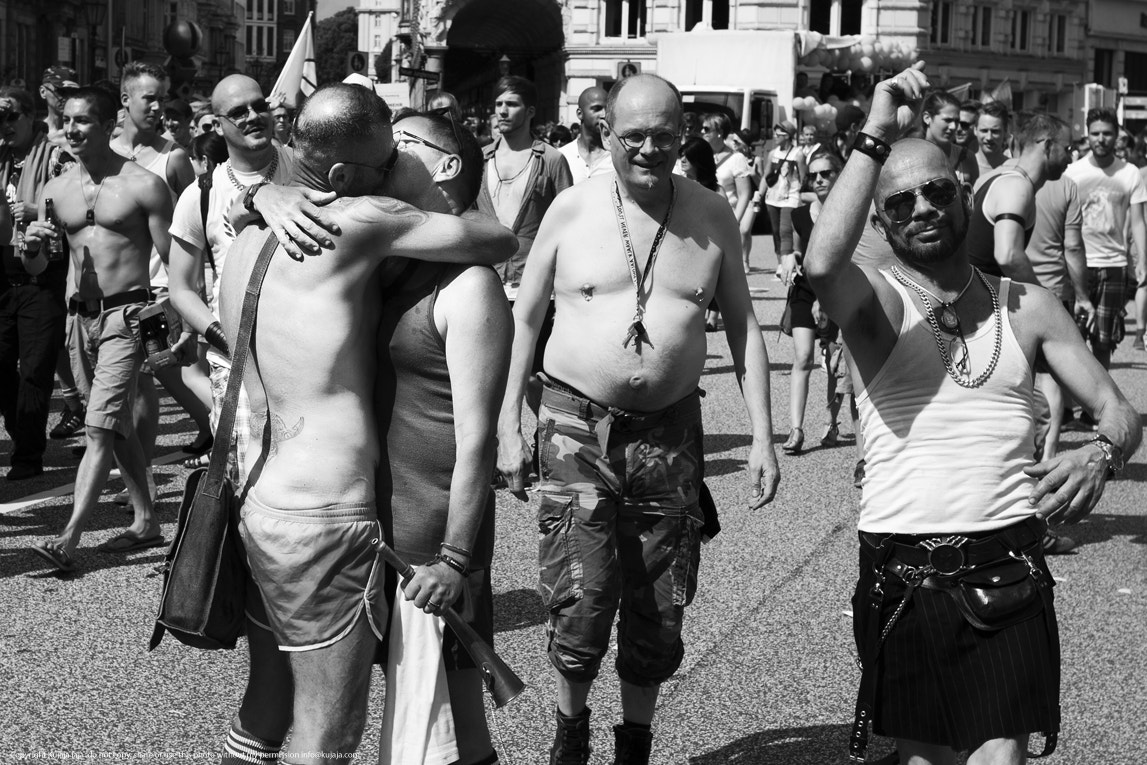 Photograph Kissing men - Love, Respect and Tollerance II by K J on 500px