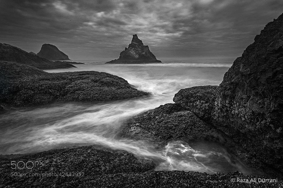Photograph Oceanside (Black & White) by Raza Durrani on 500px