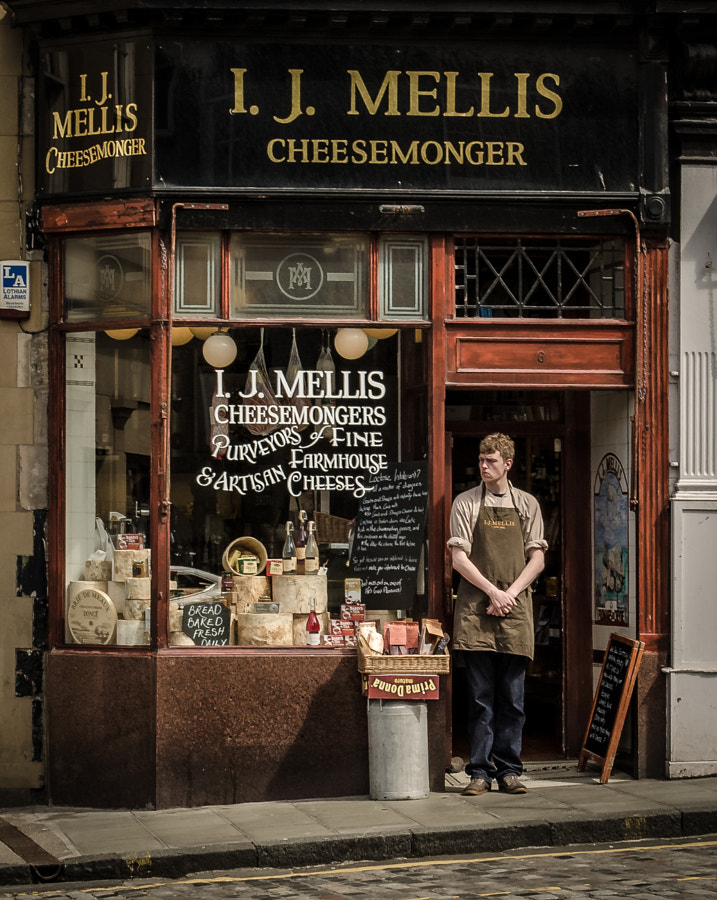 Photograph Scottish Cheeseshop /Monger by Benedikt D-rner on 500px