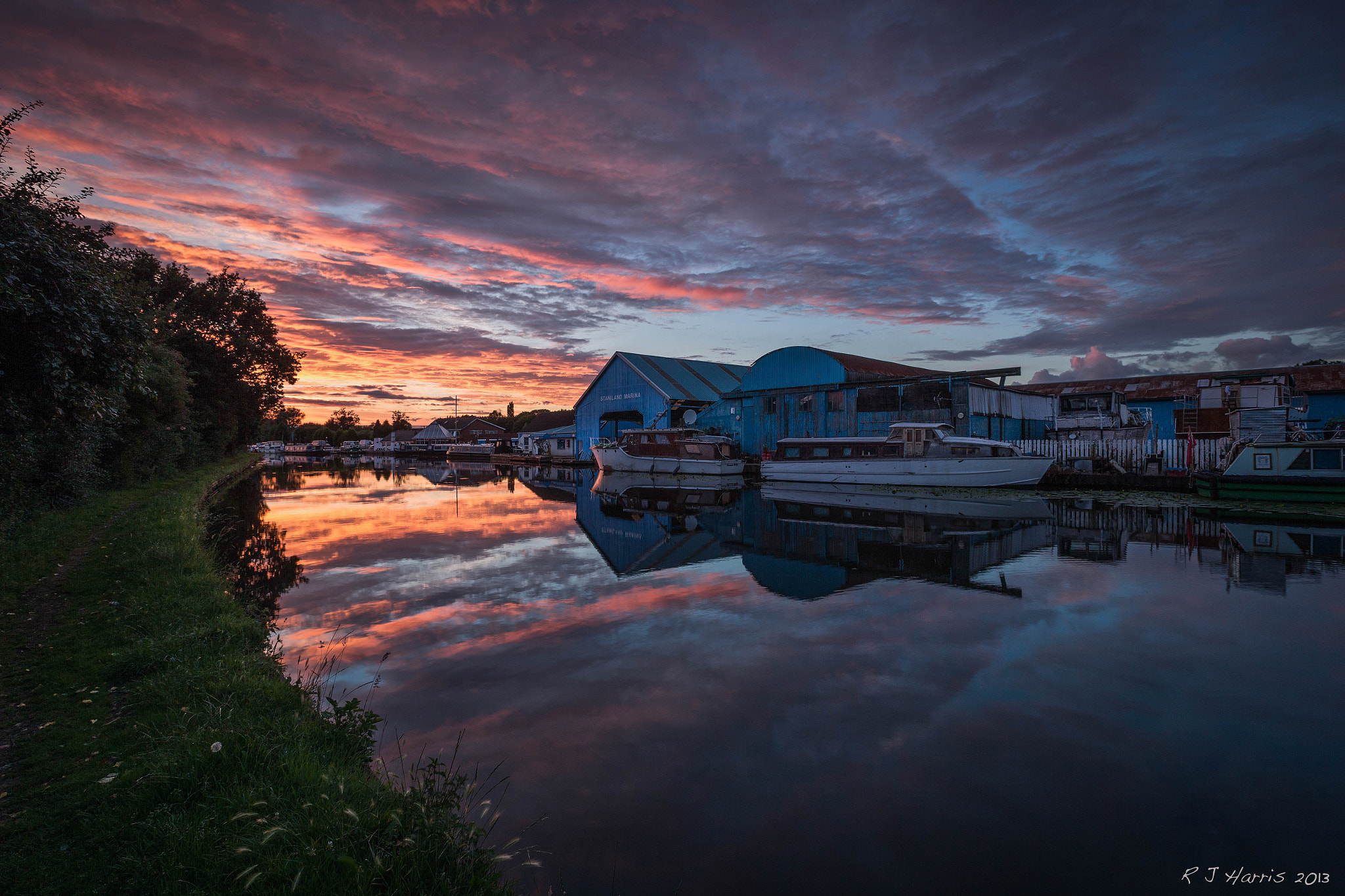 Photograph Canal Sunset by Rob Harris on 500px