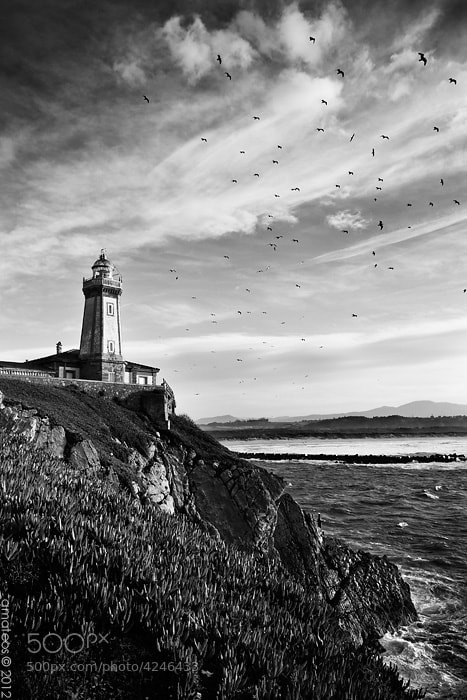 Photograph Lighthouse by Adrian Mateos on 500px