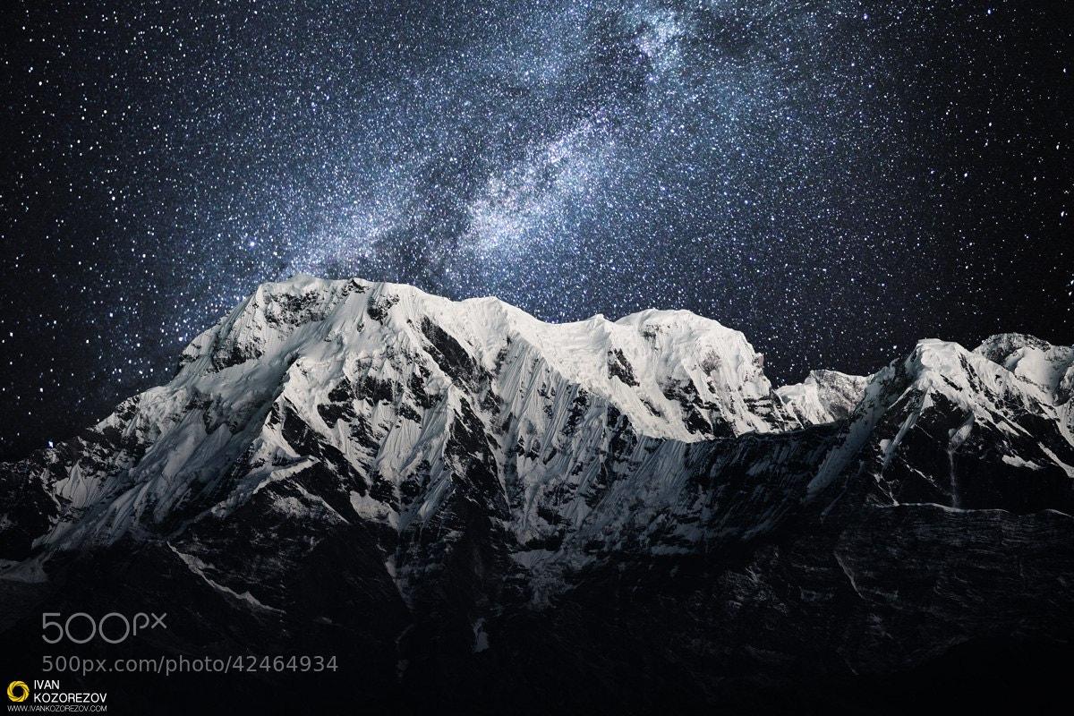 Photograph Annapurna South by Ivan Kozorezov on 500px