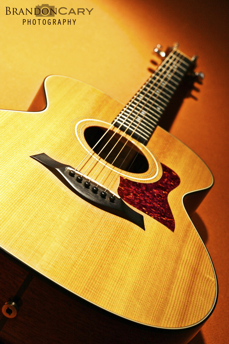 Photograph Taylor Acoustic Guitar by Brandon Cary on 500px