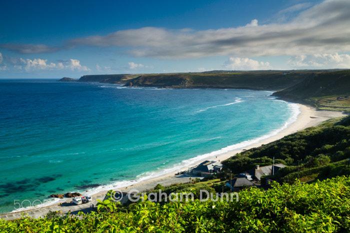 Photograph Emerald seas, Sennen Cove - Cornwall by Graham Dunn on 500px