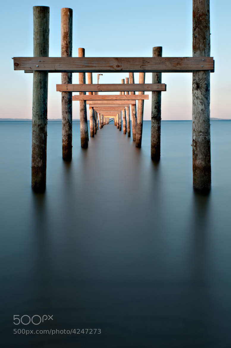 Photograph Under the Dock - Color Version by Darrin Wassom on 500px