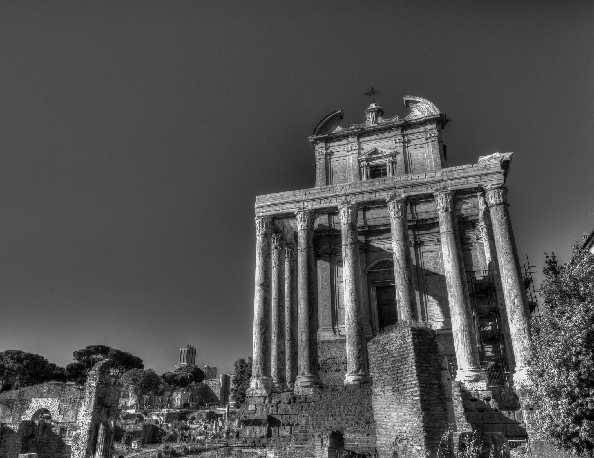 Photograph Ruin in B&W by Stephen Album on 500px