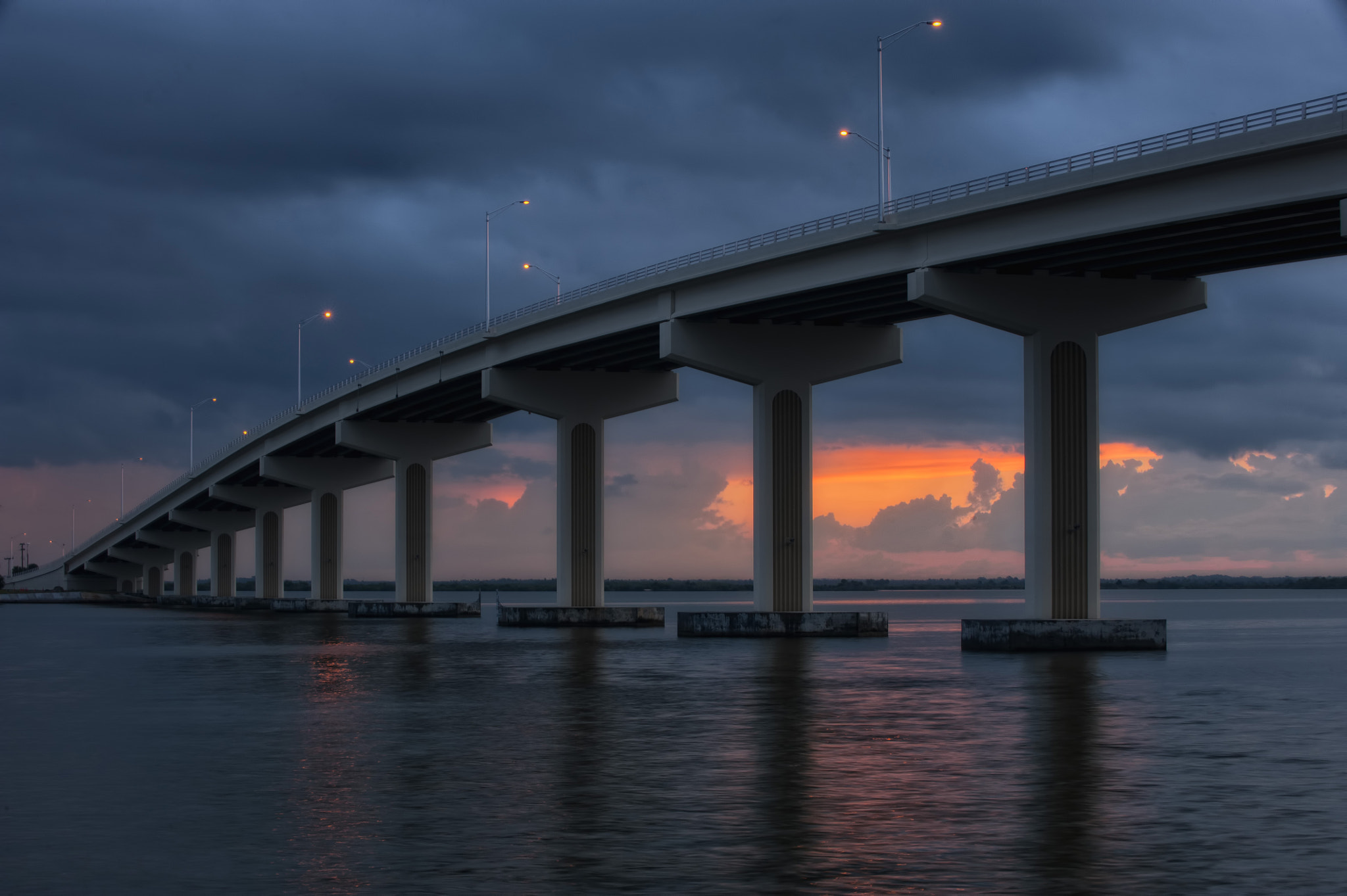 Photograph Brewer Bridge Sunrise by Wayne Bennett on 500px