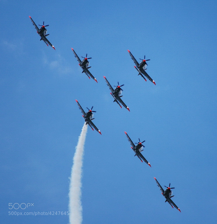 Photograph Team Orlik Airpower09 I by Adrian Kraszewski on 500px