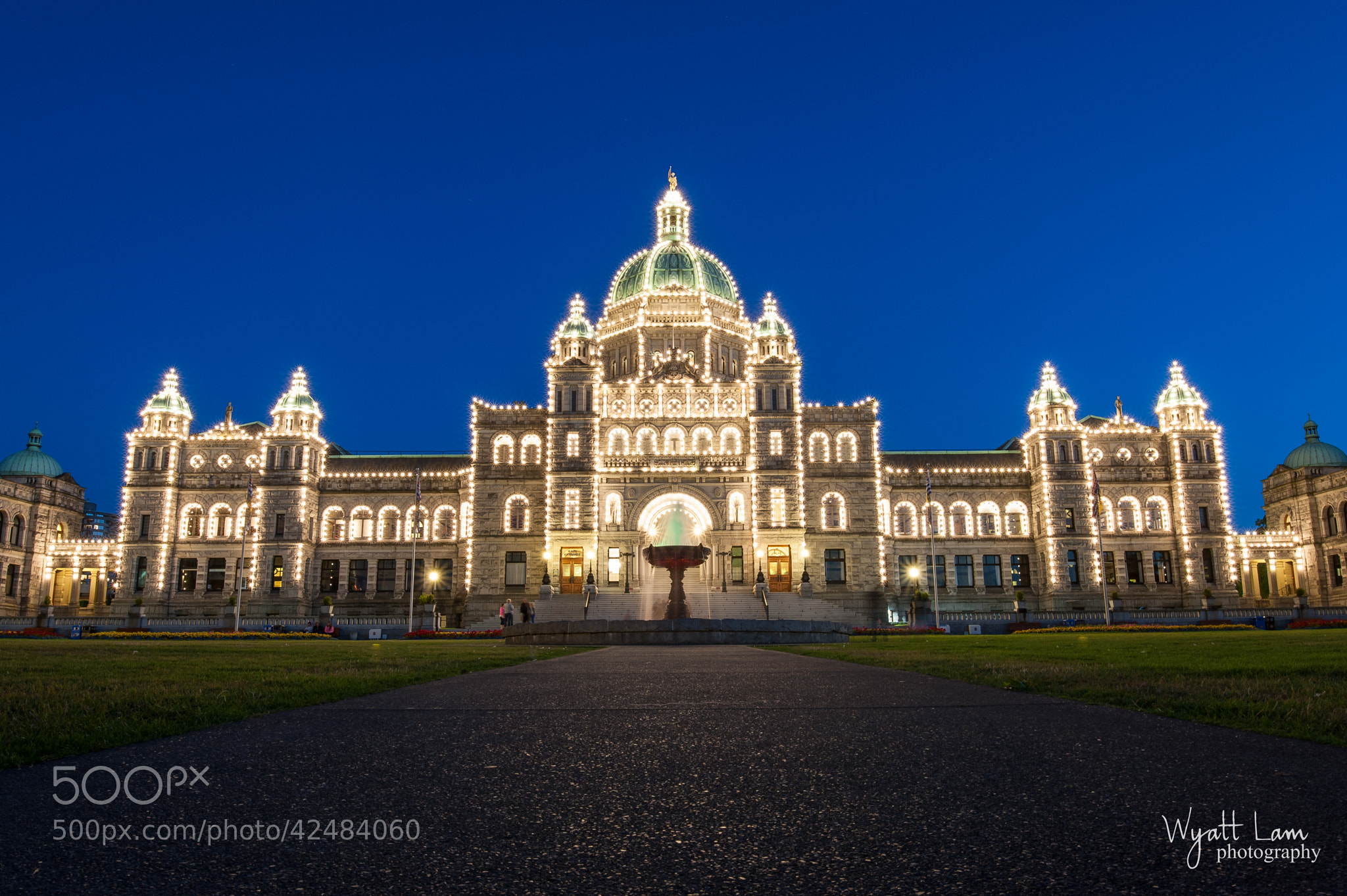 Photograph British Columbia Parliament Buildings by Wyatt Lam on 500px