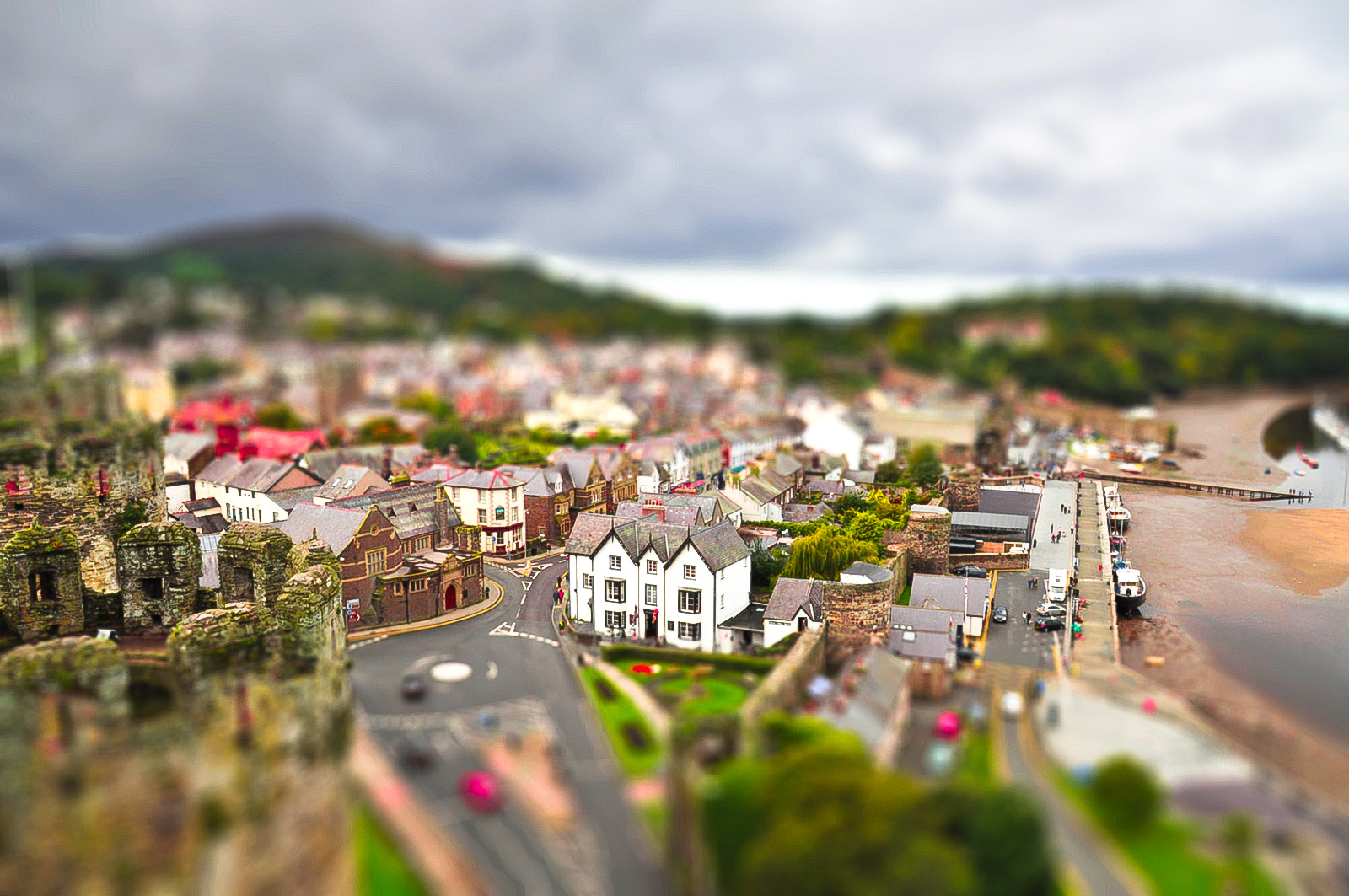 Photograph Conwy Town by Imran Azhar on 500px