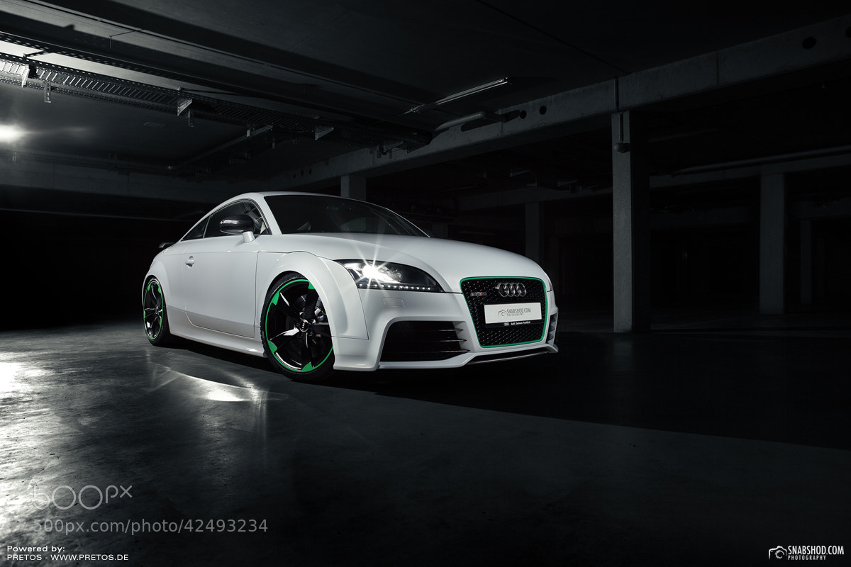 Photograph Audi TTRS of Klaus Eichinger by Pretos by Daniel Böswald on 500px