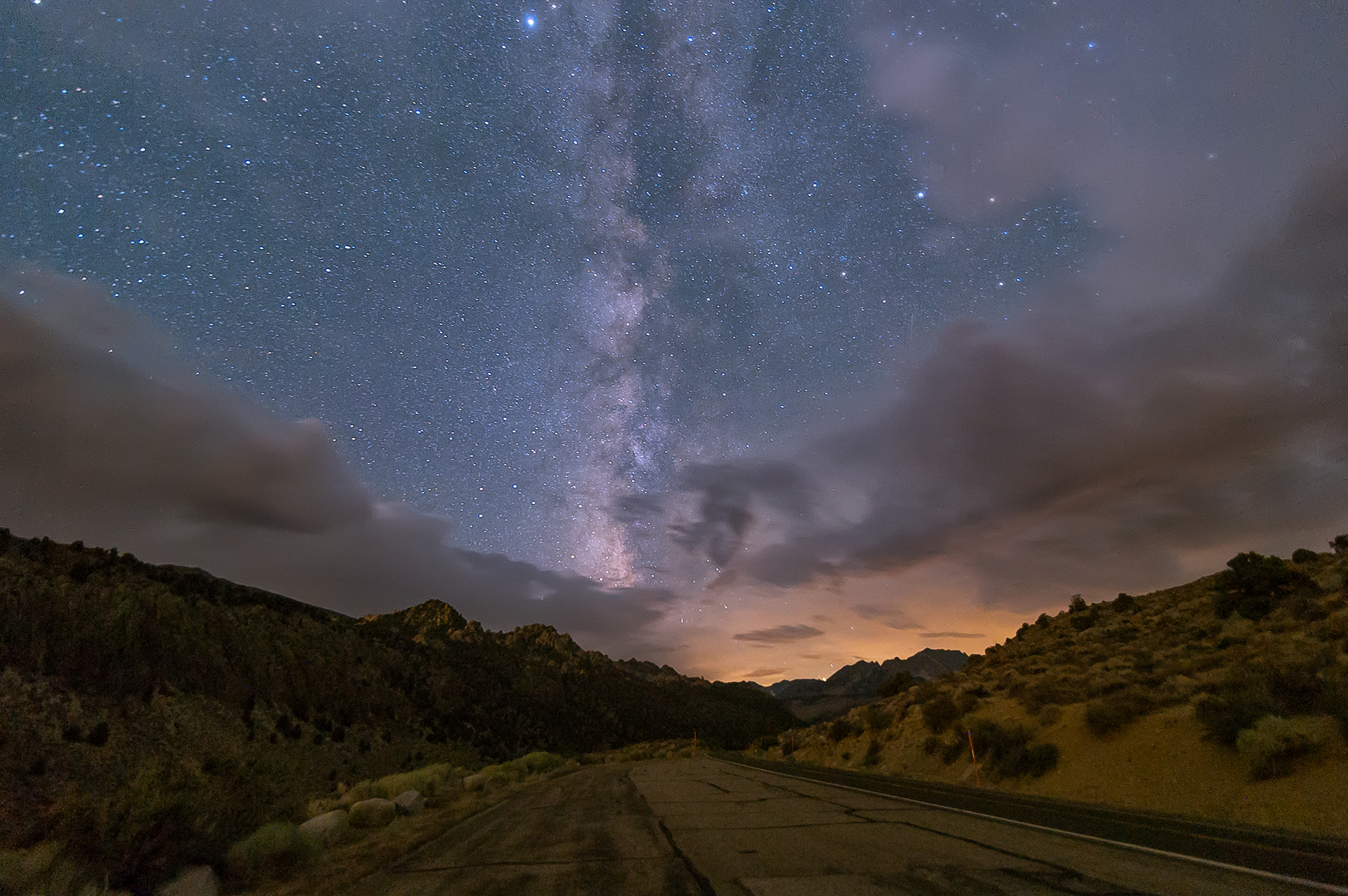 Photograph Converging on the Milky Way by Mark Esguerra on 500px