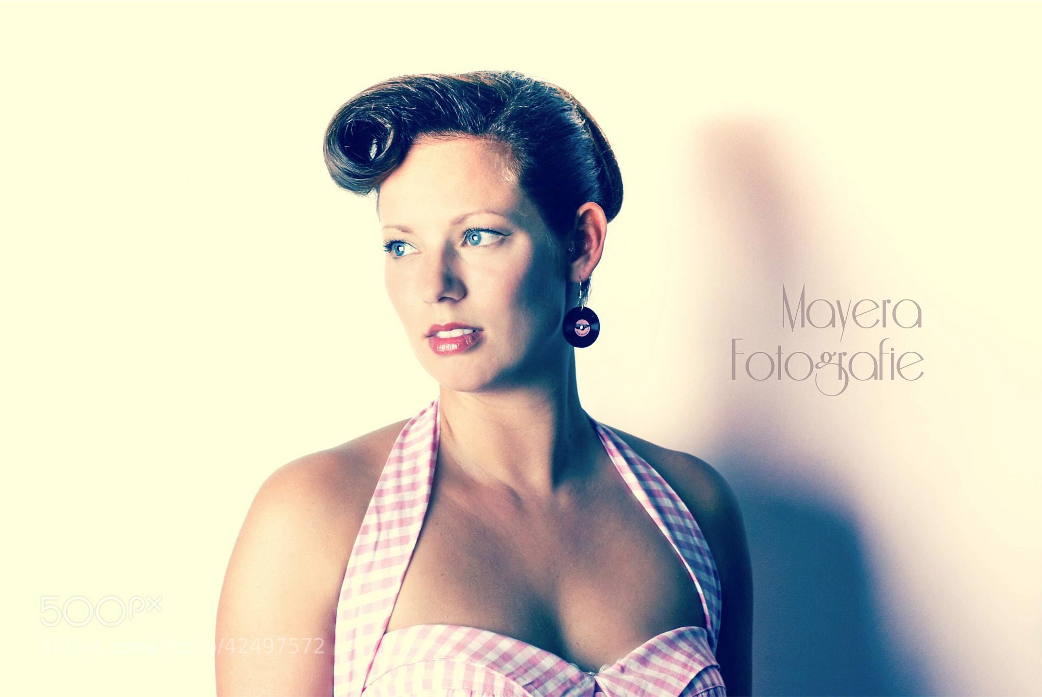 Photograph Fifties Girl by Mayera Heij on 500px
