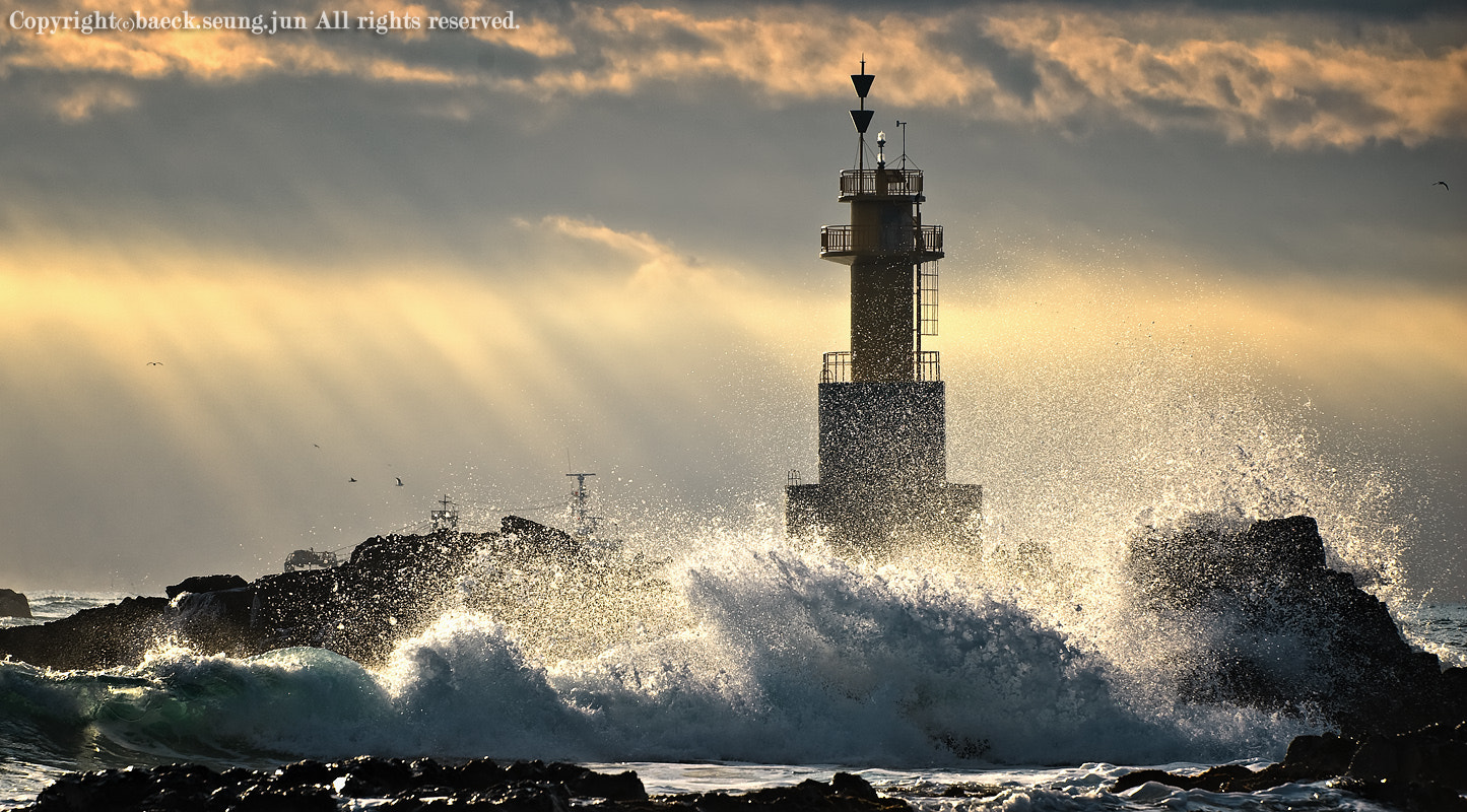 Photograph The power of the waves by blackgull on 500px