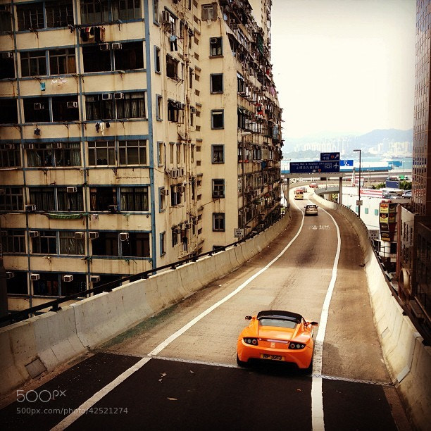 Photograph On The Road On Hong Kong Island by Rija Ménagé on 500px