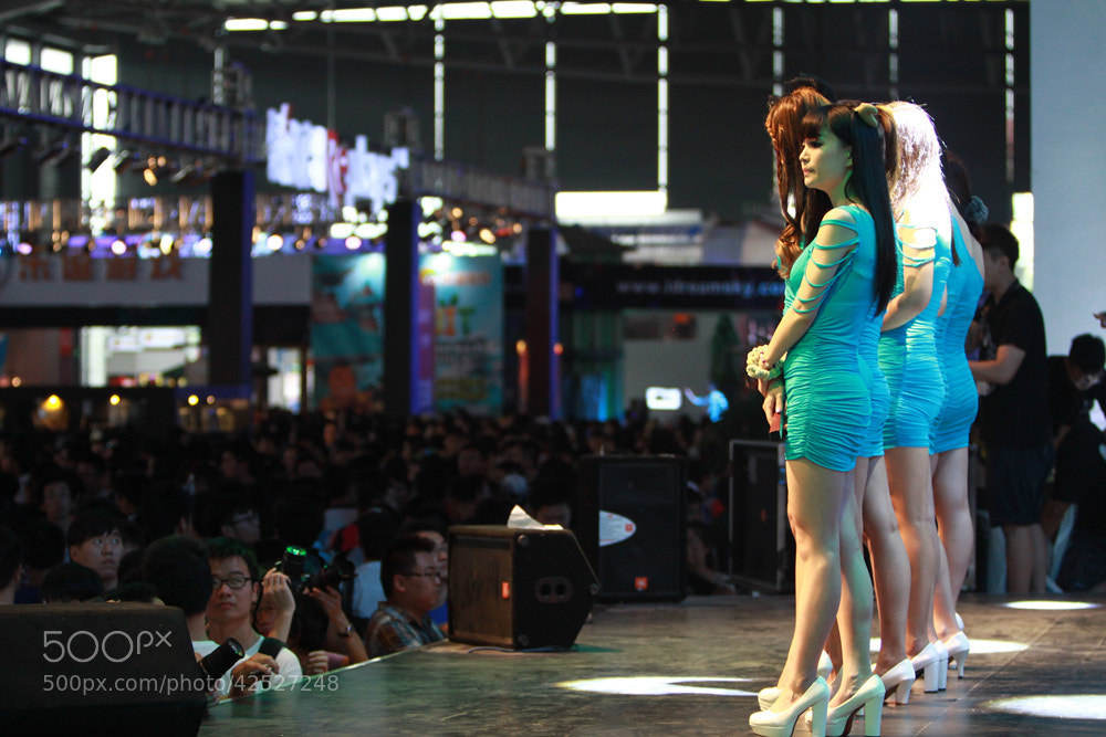 Photograph ChinaJoy2013 by Tao Peng on 500px