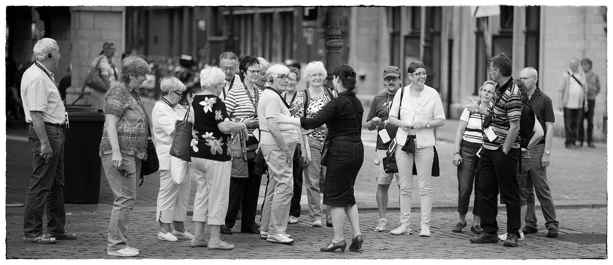 Photograph Tourists by Fouquier  on 500px