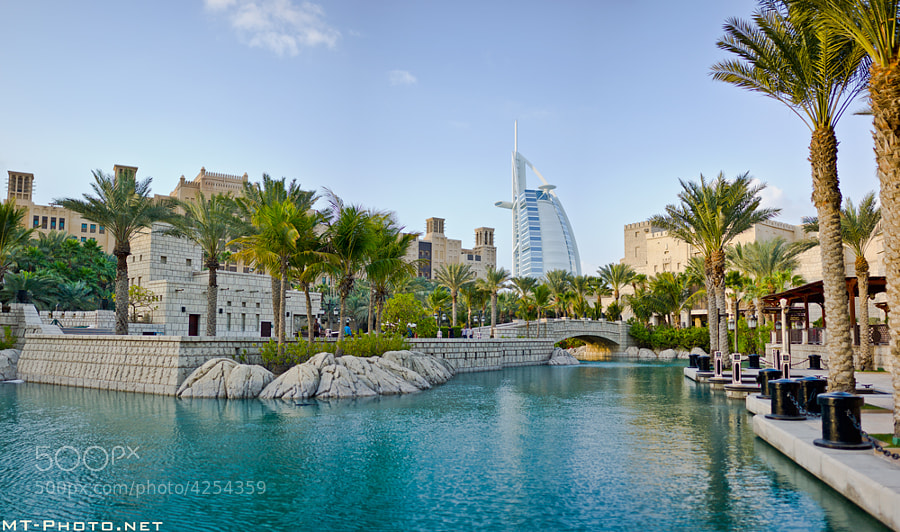 Burj Al-Arab From Madinat Jumeirah