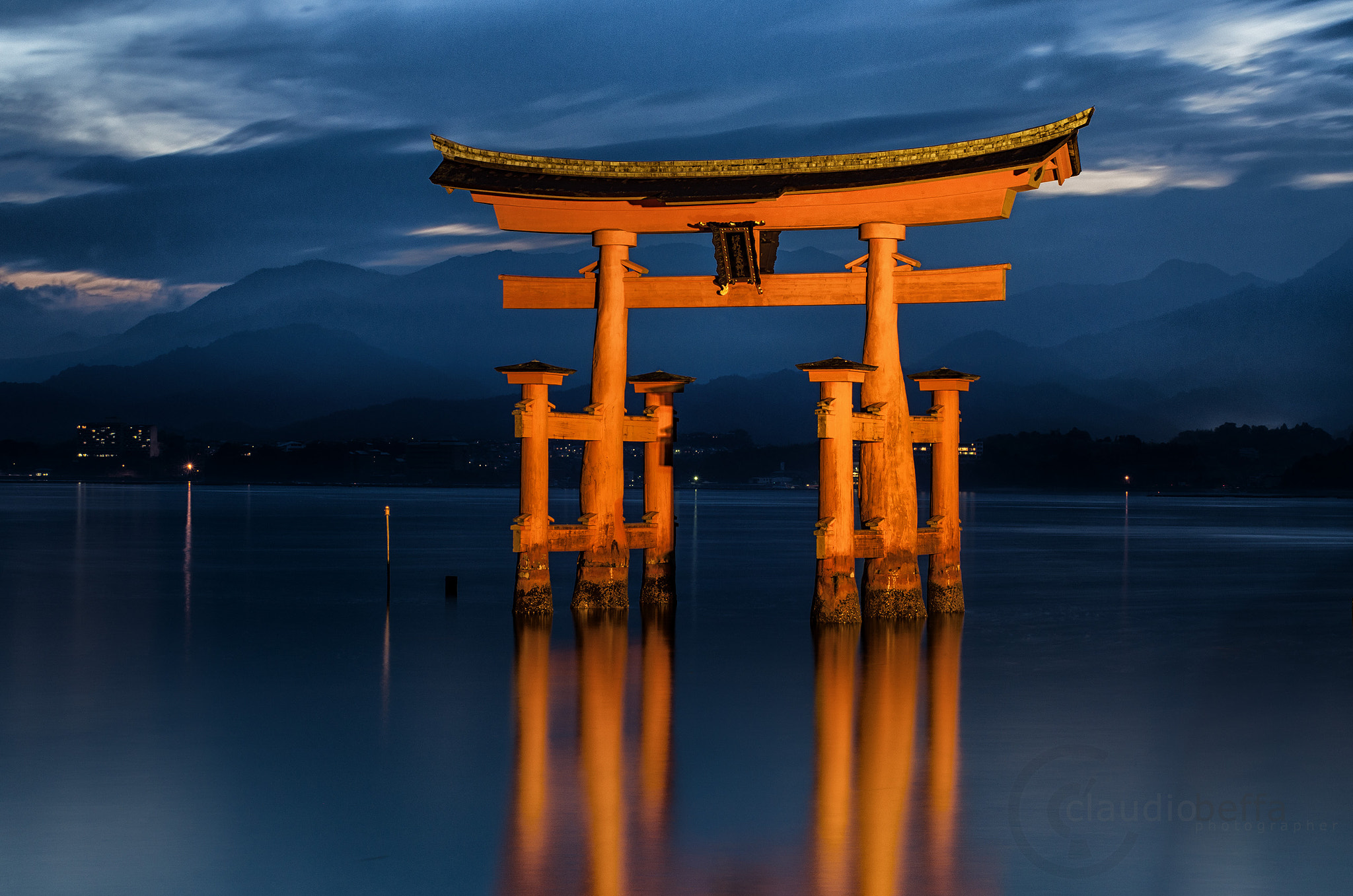 Photograph The Torii of Itsukushima by Claudio Beffa on 500px