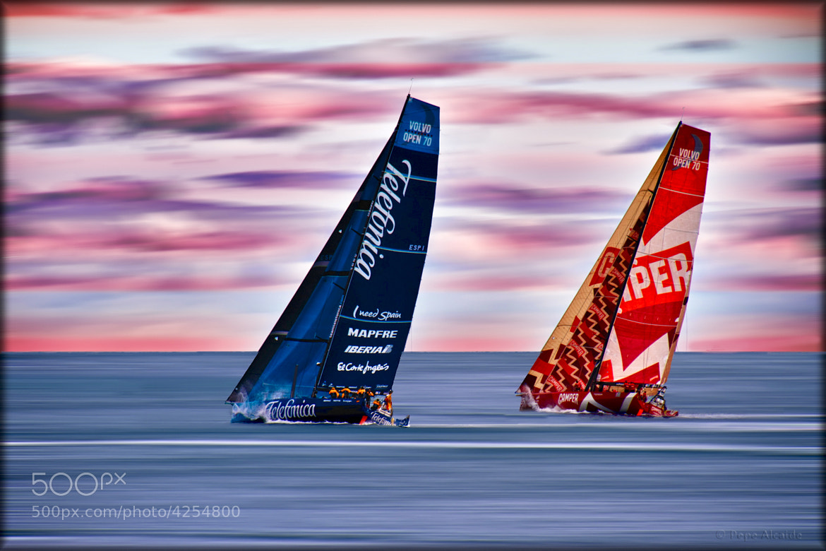 Photograph Volvo Ocean Race by Pepe Alcaide on 500px