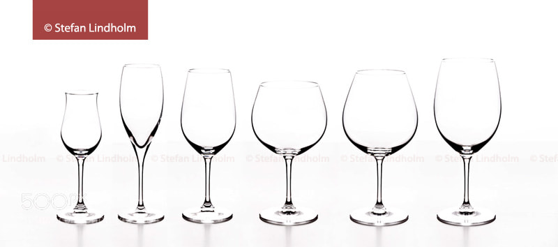 Photograph Riedel Glasses by Stefan Lindholm on 500px