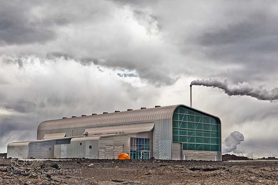 Green Energy plant in Iceland