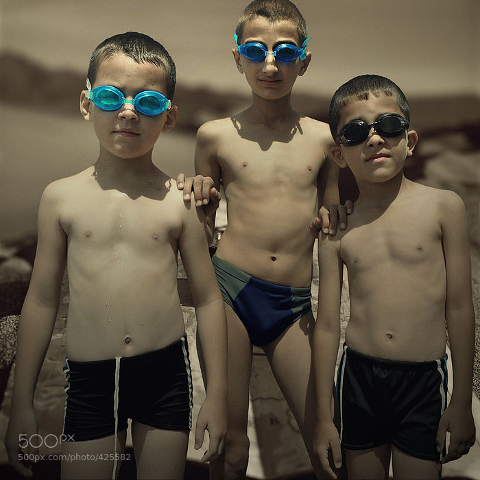 Photograph swimmers by Inga Ivanova on 500px