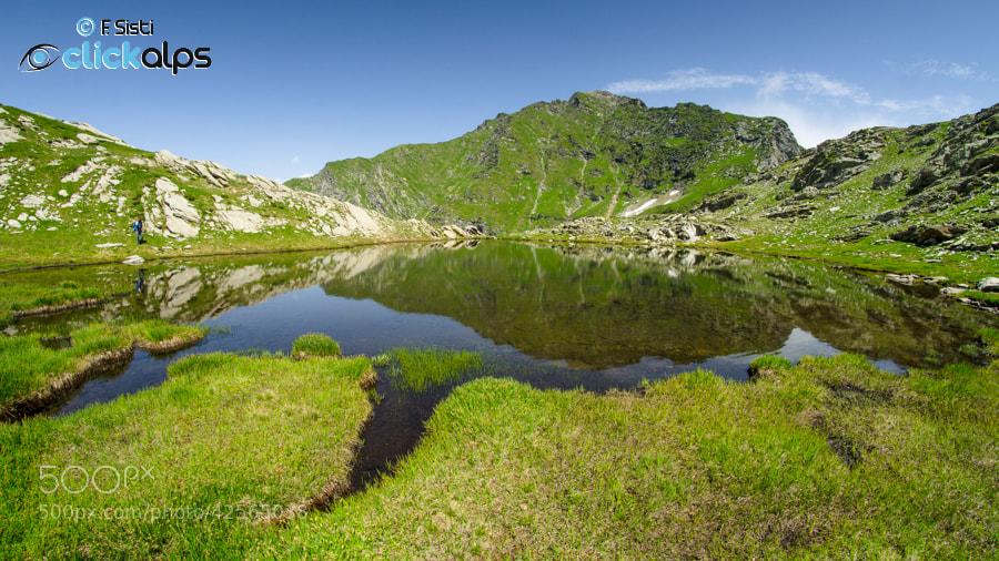 Photograph Luoghi segreti: Lago della Bocchetta (Valle Soana, Parco Nazionale Gran Paradiso, Piemonte) by Francesco Sisti on 500px