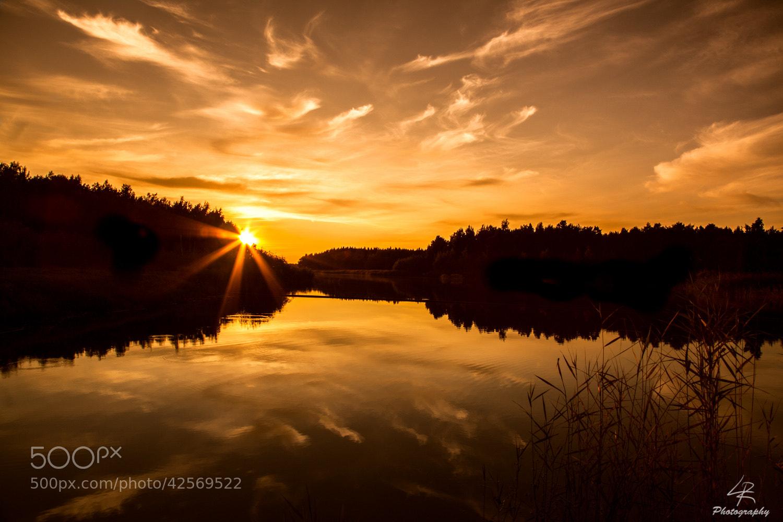 Photograph Sunset in Taivassalo by Leo Rantala on 500px