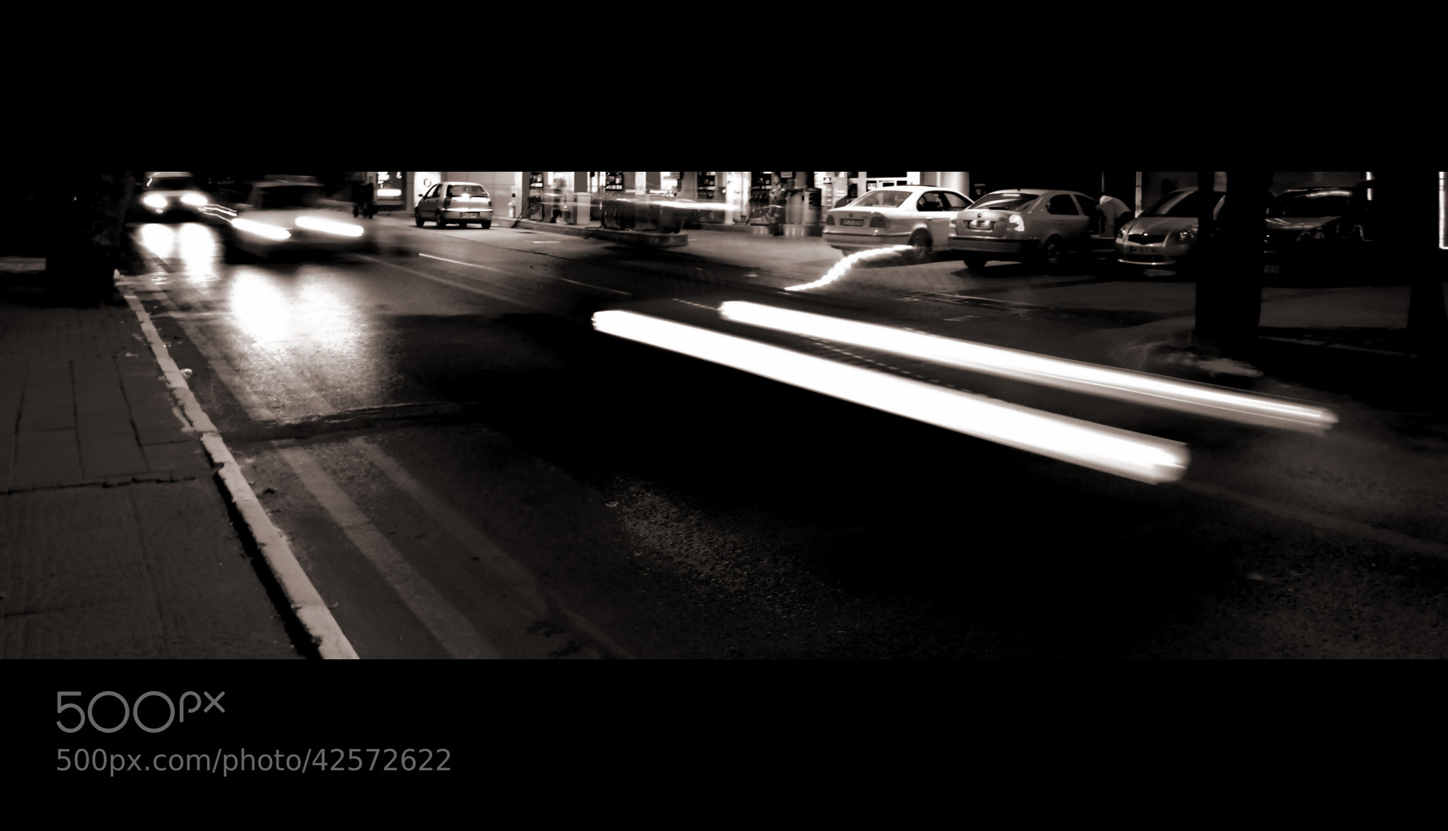 Photograph GHOST İN THE ROAD by suat küçükaydın on 500px