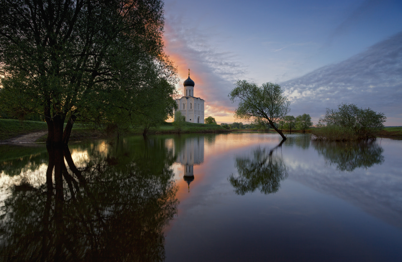 Photograph Church of the Intercession on the Nerl by Anatoly Gordienko on 500px