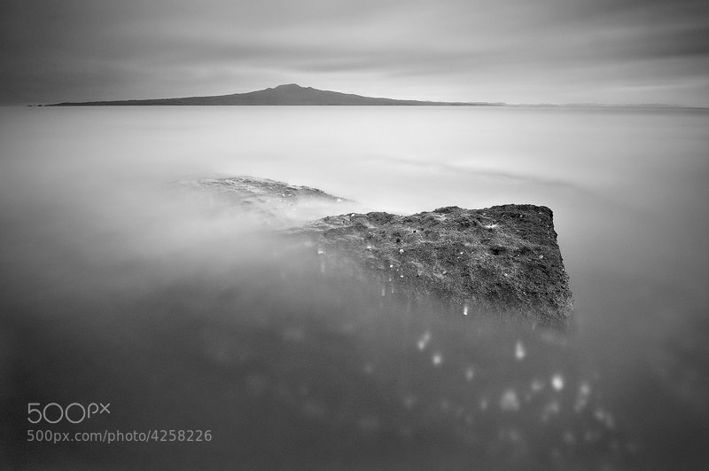 Photograph Rangitoto Volcano B+W by Mike Isaak on 500px