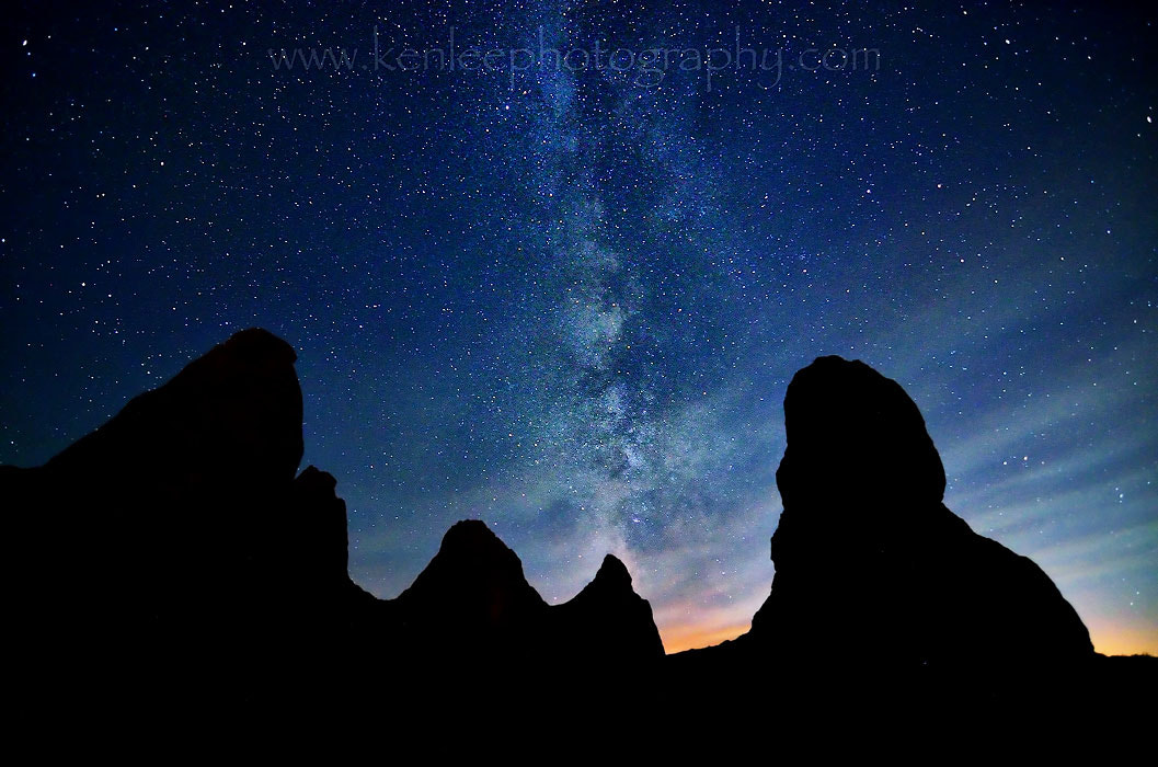 Photograph Milky Way in the Mojave by Ken Lee on 500px