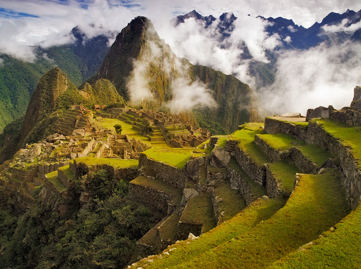 Photograph Clearing Storm over Machu Picchu by Michael Anderson on 500px