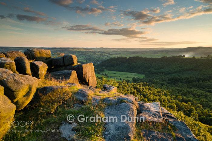 Photograph Evening light, Gardom's Edge - Peak District by Graham Dunn on 500px