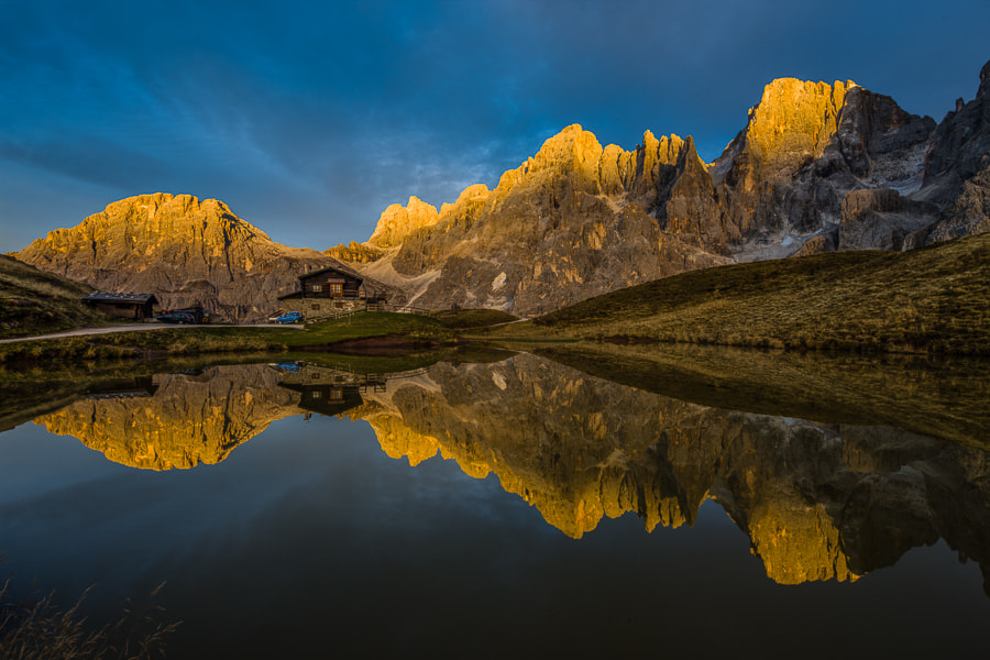 """<a href=""""http://www.hanskrusephotography.com/Workshops/Dolomites-October-2-6-2014/n-W8Vsd/i-69BKxrk/A"""">See a larger version here</a>  This photo was taken during a photo workshop in the Dolomites October 2012."""