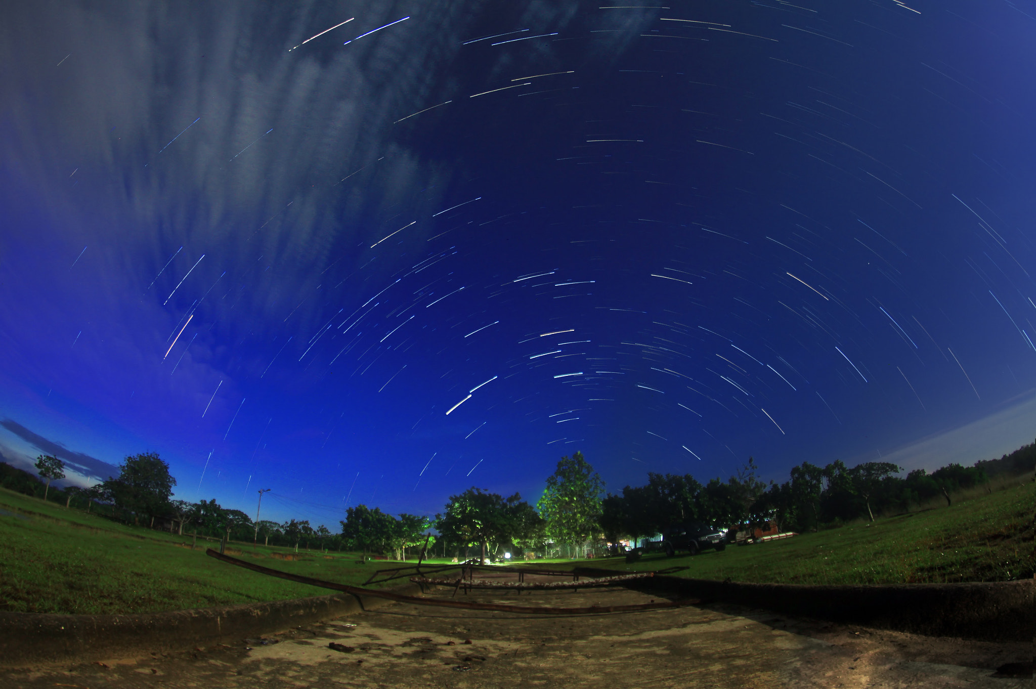 Photograph My First Startrail With FisyEye by Haris Putra on 500px