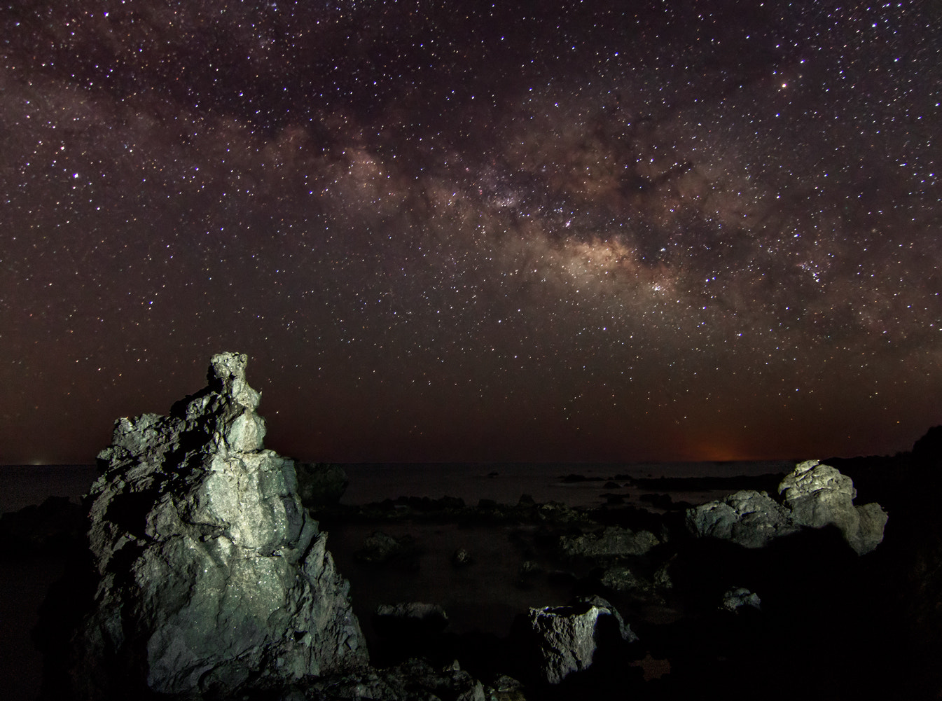 Photograph Milky Way from Toneles. by Pedro López Batista on 500px