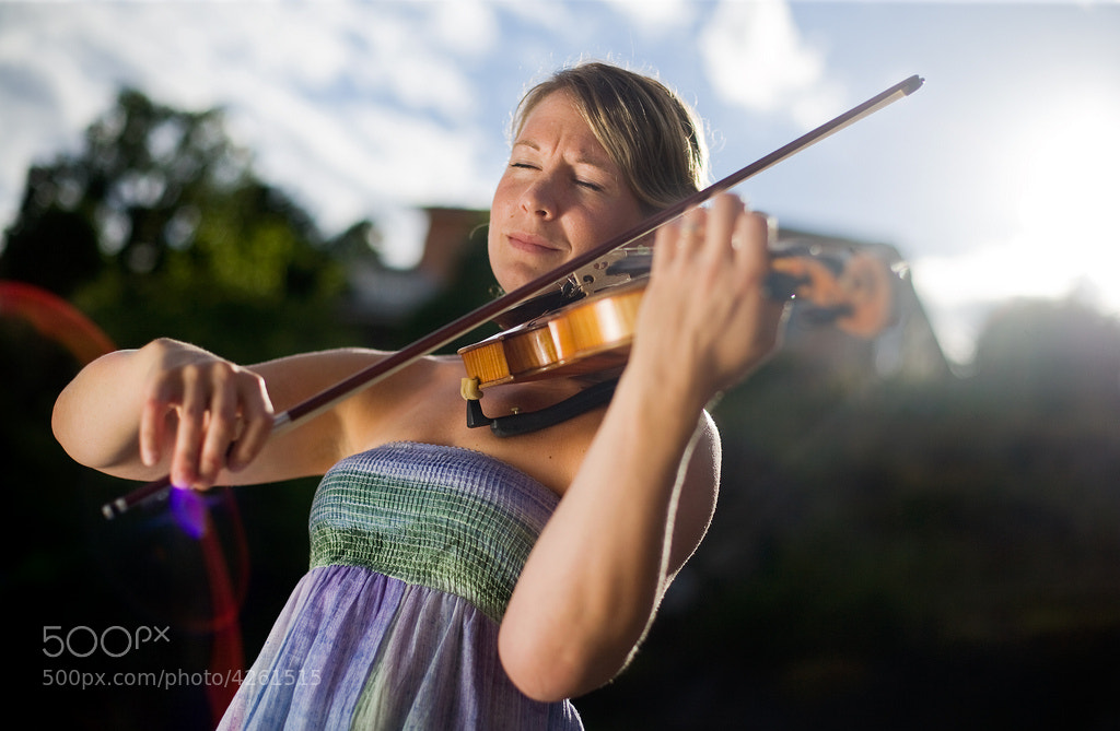 Photograph Violinist by Emil Johansson on 500px