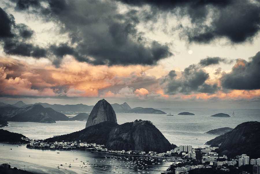 Photograph Rio at Dusk by Isac Goulart on 500px